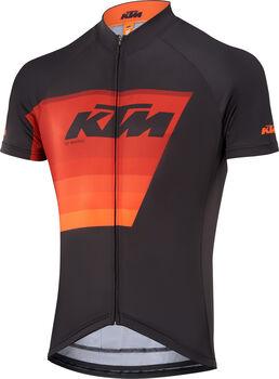 KTM Factory Line 2 Radtrikot mit Fullzip Herren schwarz