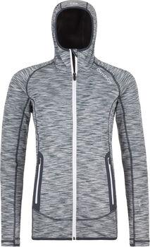 ORTOVOX Fleece Space Dyed Hoodie Damen grau