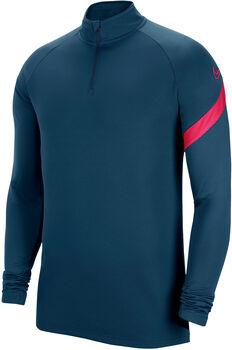 Nike Dry AcdPr 20 Langarmshirt mit Halfzip blau