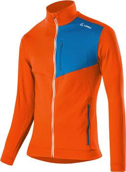 LÖFFLER Fullzip Sweater orange