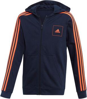adidas Athletics Club Kapuzenjacke Jungen blau