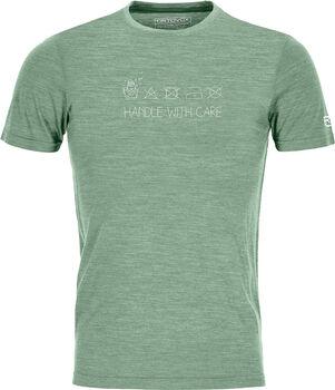 ORTOVOX 120 Cool Tec Wool T-Shirt Herren grün