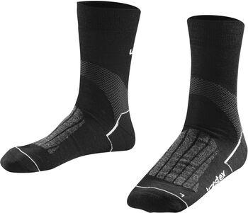 LÖFFLER Socken TRANSTEX® Merino  schwarz