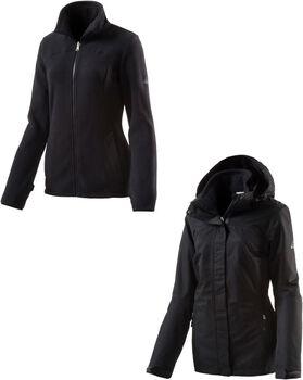 McKINLEY Terang 3in1 Jacke  Damen schwarz