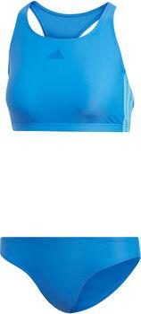 adidas Fitness 3-Streifen Bikini Damen blau
