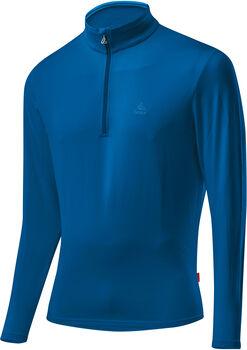 LÖFFLER Basic CF Transtex® Langarmshirt Herren blau