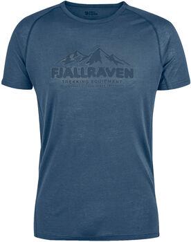 Fjällräven Abisko Trail T-Shirt Herren blau