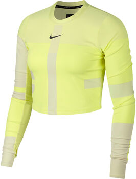 Nike Tech Laufshirt  Damen gelb