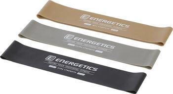 ENERGETICS Mini Bands Set Pro Fitnessbänder schwarz