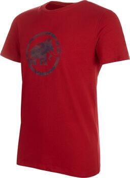 MAMMUT Logo T-Shirt Herren rot