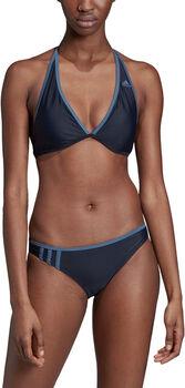 adidas Beach 3-Streifen Bikini Damen blau