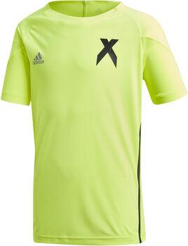 ADIDAS X Jersey T-Shirt Jungen gelb