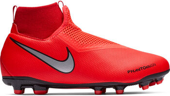 Nike Phantom Vision Academy Fit MG Fußballschuhe Jungen orange