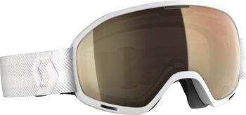 SCOTT Unlimited II OTGLight Sensitive Skibrille weiß