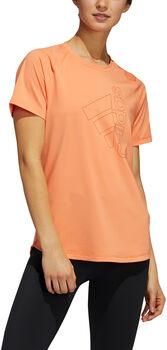 ADIDAS Badge of Sport T-Shirt Damen orange