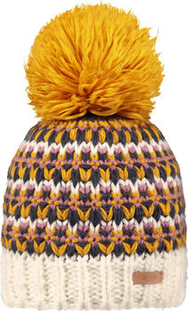 Barts Melapie Mütze Damen gelb