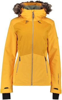 O'Neill Pw Halite Snowboardjacke mit Kapuze Damen gelb