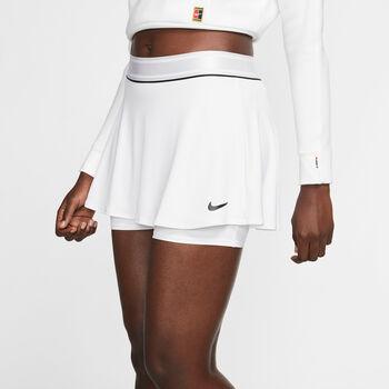 Nike  W Nkct Dry Skirt NsDa. Tennisrock Damen weiß