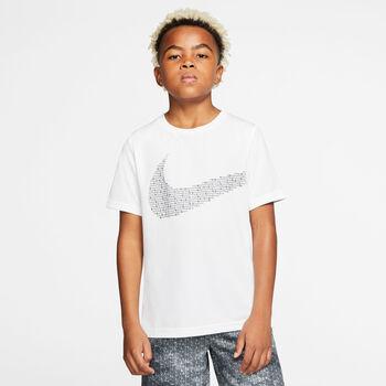 Nike Statement Performance T-Shirt Jungen weiß