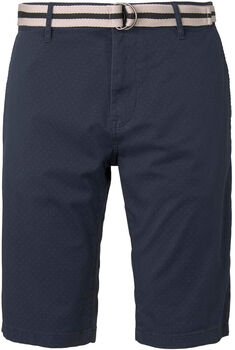 TOM TAILOR Printed Shorts Herren blau
