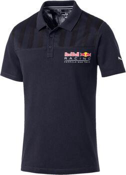 Puma RBR Logo Poloshirt Herren blau