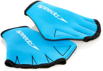 speedo Aqua Gloves blau