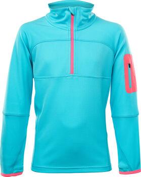 McKINLEY Tampo Langarmshirt mit Half Zip blau