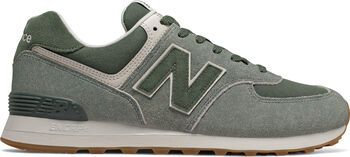 New Balance 574 Freizeitschuhe Herren grün