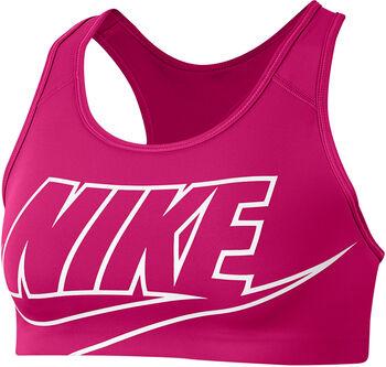 Nike Swoosh Sport-BH Damen pink