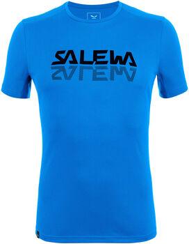 Salewa Sporty Graphic Dry T-Shirt Herren blau