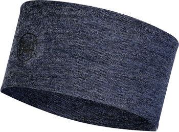 Buff Merinowolle Mid Stirnband blau