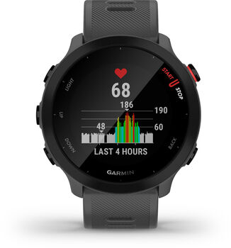 Garmin Forerunner 55 GPS Laufuhr grau