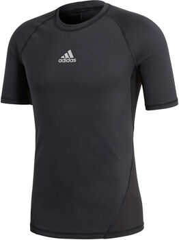 adidas Alphaskin T-Shirt Herren schwarz