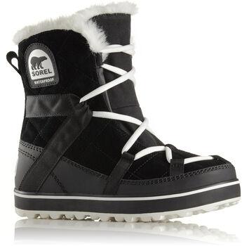 Sorel Glacy Explorer Shortie. Winterboots Damen schwarz