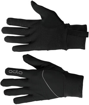 Odlo  INTENSITY SAFETY LIGHT Handschuhe schwarz