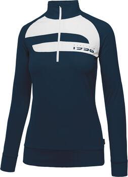 MARTINI Limited Langarmshirt mit Halfzip Damen blau