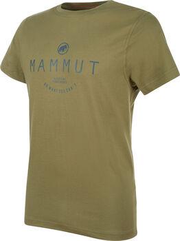 MAMMUT Seile T-Shirt  Herren grün