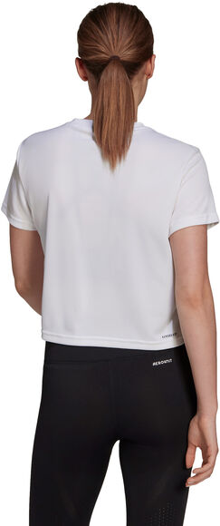 Desgined To Move Cropped T-Shirt