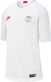Nike Breathe Paris Saint-Germain Strike T-Shirt Jungen weiß