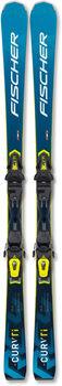 Fischer RC4 The Curv TI WS Ski ohne Bindung Damen weiß