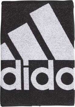 ADIDAS Handtuch L schwarz