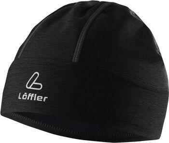 LÖFFLER Reflector Mütze  schwarz