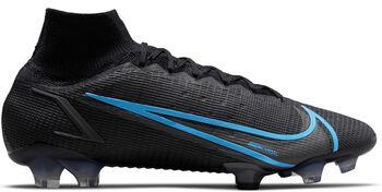 Nike Superfly Elite 8 FG. Nockenfußballschuh grau