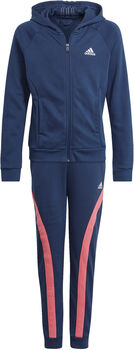 adidas Bold Hooded Trainingsanzug blau