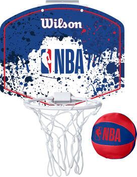 Wilson NBA Team Mini Basketboad-Set weiß