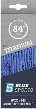 Blue Sports Titanium Pro Schuhbänder blau