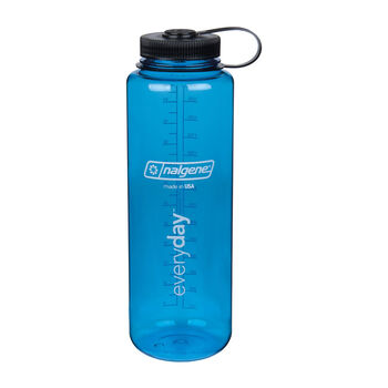 Nalgene Wide Mouth 1,5l Trinkflasche blau
