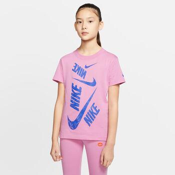 Nike Sportswear Swoosh T-Shirt Mädchen pink