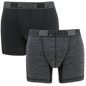Puma Active Boxer Men's Boxershort 2er Pack Herren schwarz