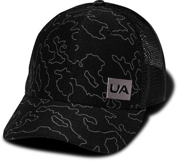 Under Armour Trucker Blitzing Kappe schwarz